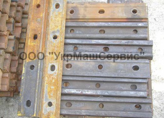 Накладка двухголовая 1Р-65 ГОСТ 8193-73 к железнодорожным рельсам типа Р-65