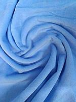 Нежно-голубая махра велюр (Турция Премиум)