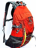 Велорюкзак Leadhake туристический каркасный красный