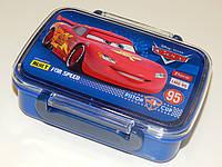 """Контейнер для еды """"Cars"""" Тачки с разделителем 705788"""