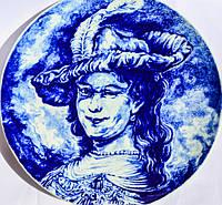 Коллекционная тарелка! Портрет! Дельфт! Delft, Голландия!, фото 1