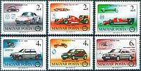 Венгрия 1986 - формула 1 - MNH XF