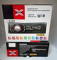 Автомагнитола 8188 MP3 USB SD AUX и Bluetooth для телефона (громкая связь)