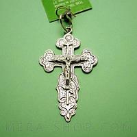 Мужской нательный крест из серебра (61), фото 1