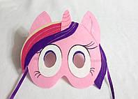 Карнавальная маска Пони Каденс для сюжетно ролевых детских игр Пони дружба это чудо.