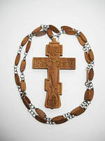 Крест иерейский деревянный. Ручная работа. Резьба