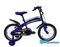 Детский велосипед Azimut-F (высококачественная комплектация)-16 дюйм