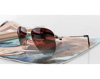 Женские солнцезащитные очки Guess (GUF 109 brown) Lux SR-569