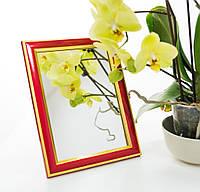 Зеркало в багете, зеркала настольные, зеркала настенные, зеркало с подставкой, 2313-20