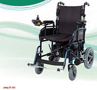 Коляска инвалидная с двигателем складная JT-101 (Турция)
