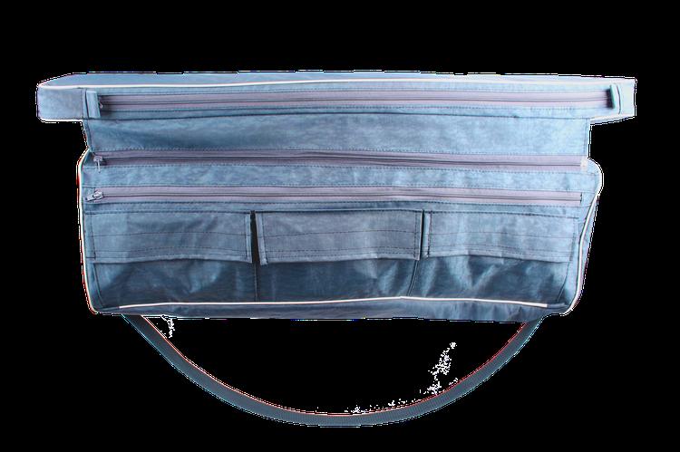Мягкая сидушка с отстегными кармашками на моторные лодки, фото 2