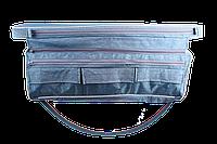 Мягкая сидушка с отстегными кармашками на моторные лодки