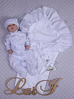"""Летний набор для девочки на выписку """"Мечта"""" белый, фото 1"""