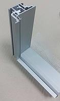 Алюминиевый профиль для производства коробки двери со скрытым монтажом