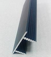 Врезной торцевой профиль для дверного полотна из ДСП, МДФ