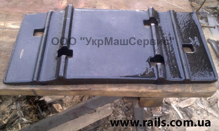Подкладка костыльного скрепления Д-65 ГОСТ 8194-75 к рельсам типа Р-65
