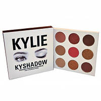 Тени Kylie Cosmetics Kyshadow The Burgundy Palette на 9 цветов