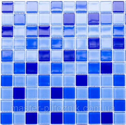 Мозаика Leo Ceramica стеклянная cobalt