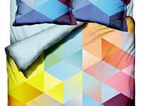 Комплект постельного белья  Class евро размер Cube