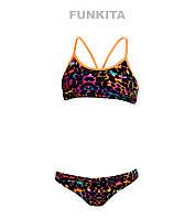Раздельный купальник для девочек Funkita Puma Power FS02, фото 1