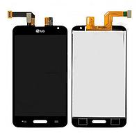 Оригинальный дисплей (модуль) + тачскрин (сенсор) для LG Optimus L70 D320 D321 MS323 (черный цвет)