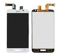 Оригинальный дисплей (модуль) + тачскрин (сенсор) для LG Optimus L70 D320 D321 MS323 (белый цвет)