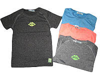 Подростковые спортивные футболки для мальчиков в разных цветах 134,140,146,152,158р.
