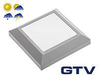 Светодиодный светильник для подсветки стен, лестниц GTV SILVER KW 4Вт 250Лм 3000K 120° IP65, молочное стекло
