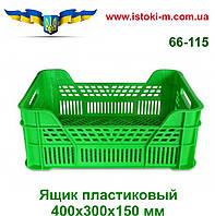 Ящик пластиковый для овощей и фруктов 400х300х150 мм