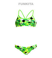 Раздельный купальник для девочек Funkita Golden Glow FS02, фото 1