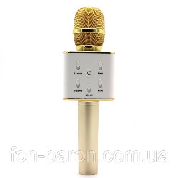 Микрофон караоке Q7 + встроенная колонка - Fon-Baron - Магазин портативной техники и электроники в Одессе