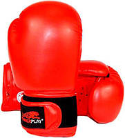 Боксерские перчатки PowerPlay 3004  Красный