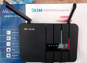 Беспроводной маршрутизатор Wi-Fi роутер NK Link 22 (300 Мб)