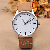 Часы MVMT коричневые с белым