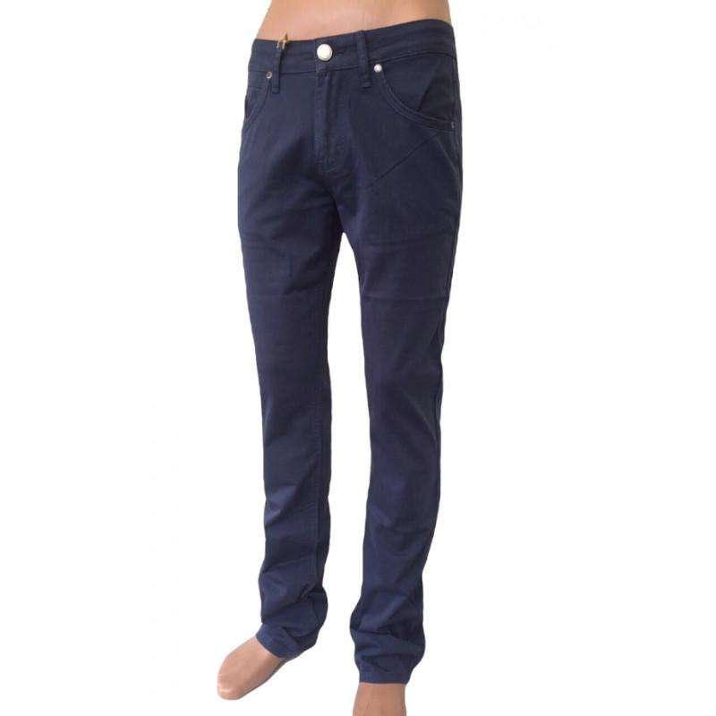 Мужские брюки Franco Benussi 17-159 синие