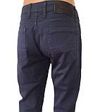 Мужские брюки Franco Benussi 17-159 синие, фото 4