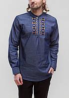 Чоловіча вишита сорочка Радан на джинсі