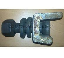 Болт клеммный М22x75 ГОСТ16016-79 для рельсовых скреплений жд пути