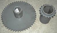 Комплект звездочек ПСП-10 уменьшения оборотов барабана Дон-1500