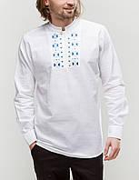 Чоловіча вишита сорочка Радан блакитна