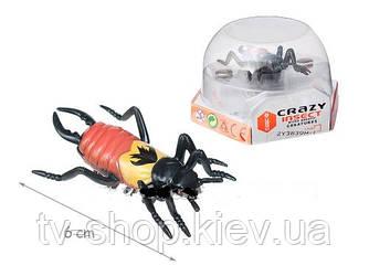 "Микро-робот Жук ""Crazy insect"" на батарейках"