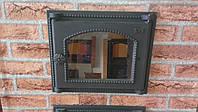 Стеклянная Дверь в топочную