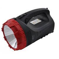 Переносной аккумуляторный фонарь / фонарик LUXURY 2827, 3W+9LED/25LED