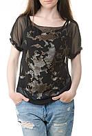 Женская черная блузка Lafer