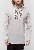 Чоловіча вишита сорочка Радан оранж
