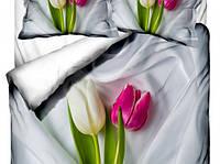 Комплект постельного белья  Class евро размер Leylak