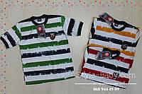 Футболка детская в полоску для мальчика Турция размер 7,8,9,10,11 лет