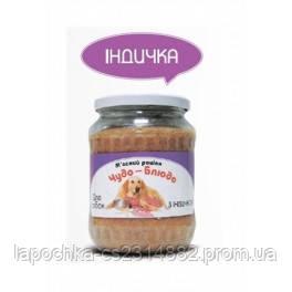 Консервы Чудо-Блюдо для собак с индейкой, 720 г