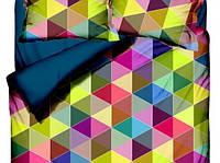 Комплект постельного белья  Class евро размер Hexagon