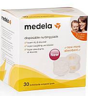 Medela Прокладки в бюстгальтер Disposable Nursing Pads 30 шт (008.0320)